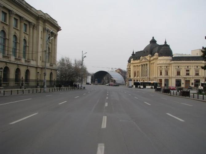 Calea Victoriei, trafic restrictionat