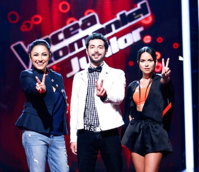 VOCEA ROMANIEI JUNIOR, JURATI, PRO TV
