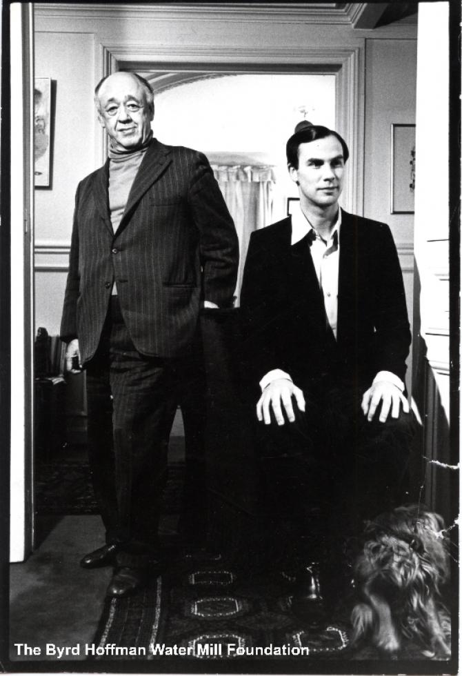 Eugene Ionesco și Robert Wilson la Paris, 1978