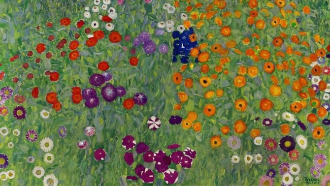 Gustav Klimt, Bauerngarten