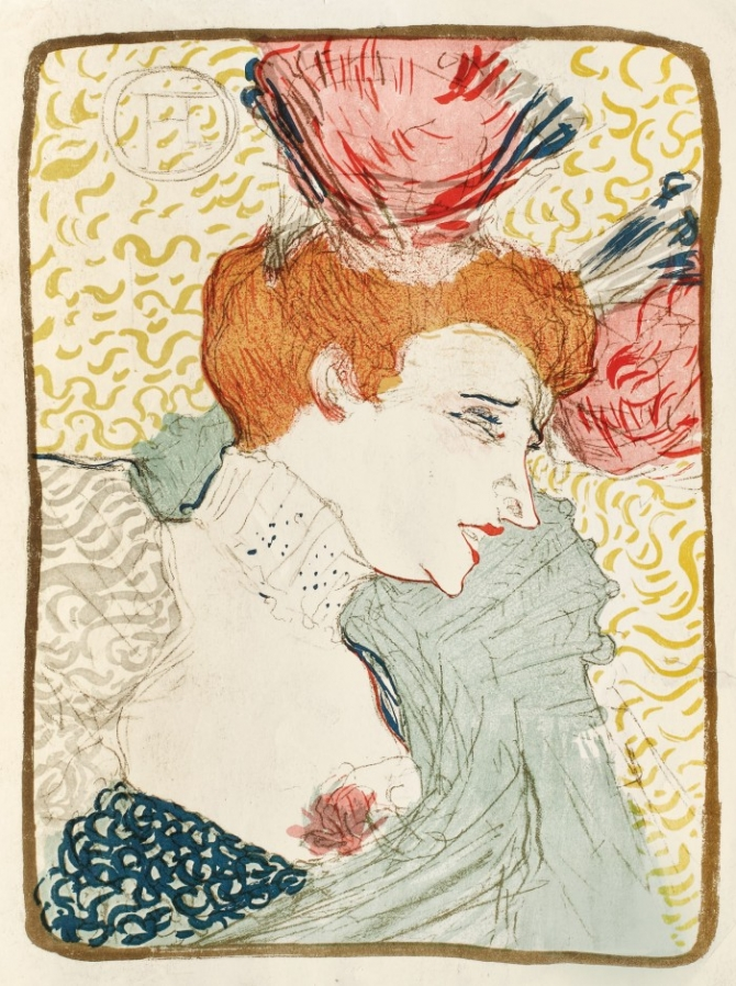 Henri Toulouse-Lautrec, Mademoiselle Marcelle Lender