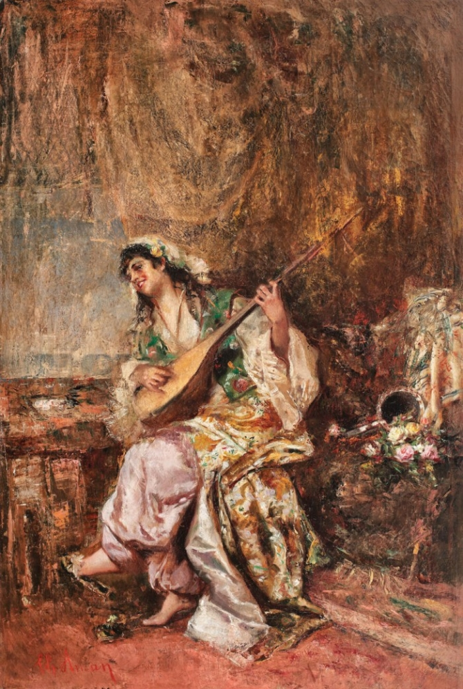 Orientala, de Theodor Aman