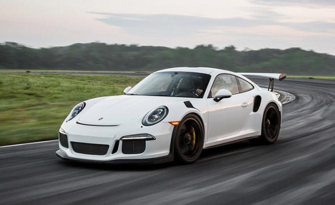 Porsche 911 GT3. Imagine cu titlu de prezentare