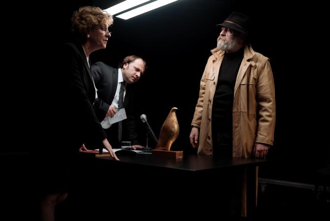 Scena din spectacol