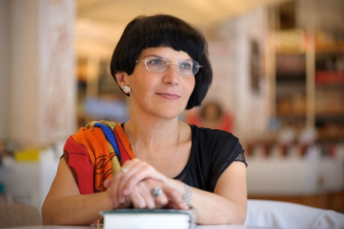 Scriitoarea Ioana Pârvulescu