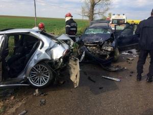 accident-dn7-lazaret-cinci-persoane-ranite