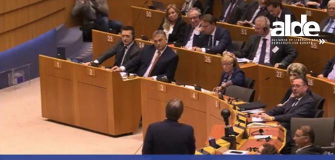 Guy Verhofstadt - Viktor Orban