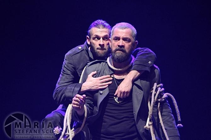 Mircea Silaghi (Iago) & Liviu Cheloiu (Othello)