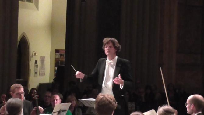 Samuel Draper la pupitrul Oberon Symphony Orchestra
