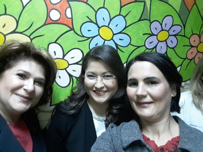 Rovana Plumb, Oana Zamfir și Simona Gheorghe