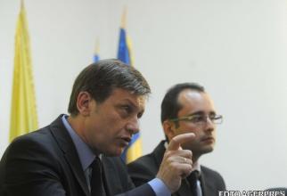 Crin Antonescu și Cristian Bușoi, în 2009