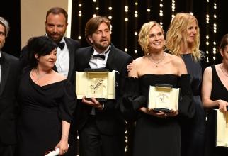 Laureații  celei de-a 70- ediții a Festivalului de la Cannes