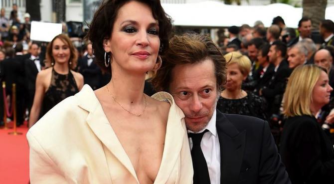 Jeanne Balibar si Mathieu Amalricla premiera filmului Barbara