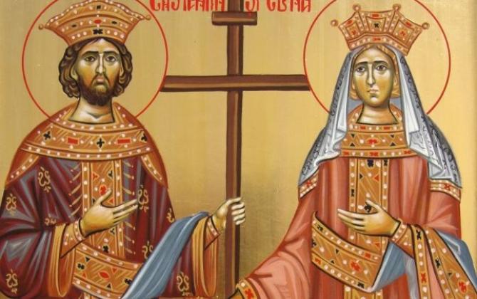 Sfinții Constantin și Elena, tradiții. Ce trebuie neapărat să facă femeile pe 21 mai