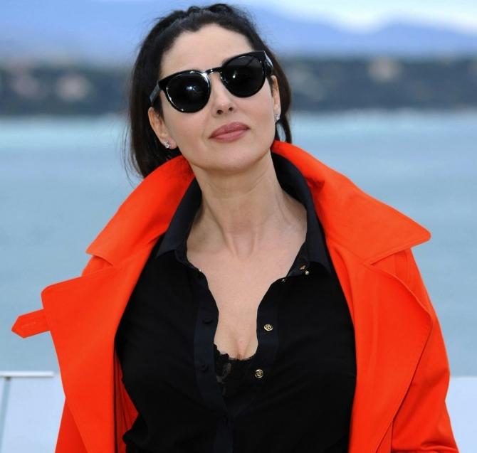 Monica Bellucci, printre primele vedete  descinse pe Croazeta