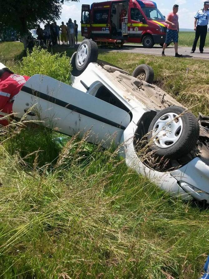 """Accident Suceva. Foto Facebook / ISU """"Bucovina"""" Suceava"""