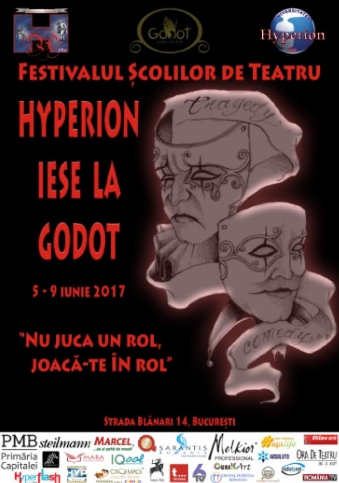 Afiş Hyperion iese la Godot