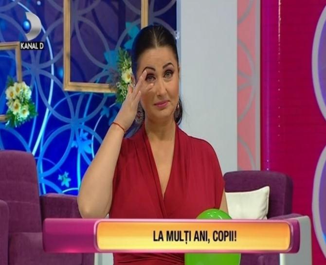 Gabriela Cristea. Foto captură Kanal D