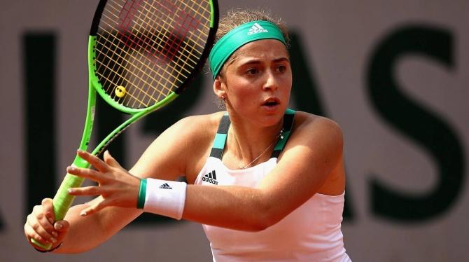 Jelena Ostapenko. Foto si.com