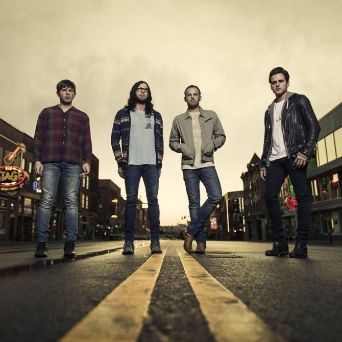 Kings of Leon : Caleb, Nathan, Jared şi Matthew Followill