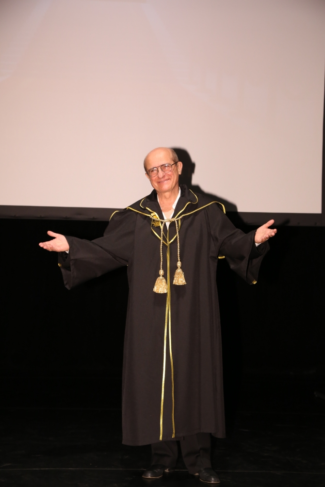 Prof.univ.dr. Grigore Gonţa - Doctor Honoris Causa UNATC I.L. Caragiale