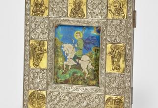 Sfantul Gheorghe ucigand   balaurul