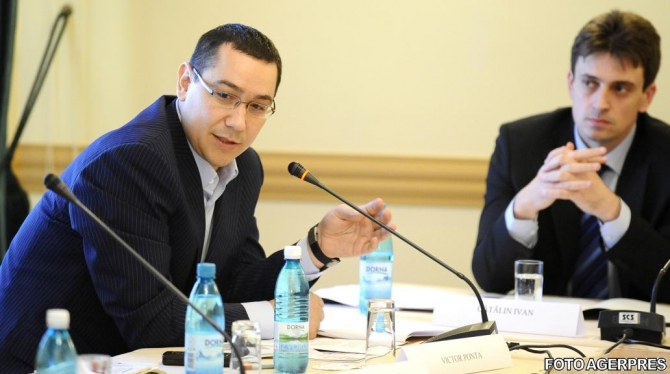 Victor Ponta - Catalin Ivan