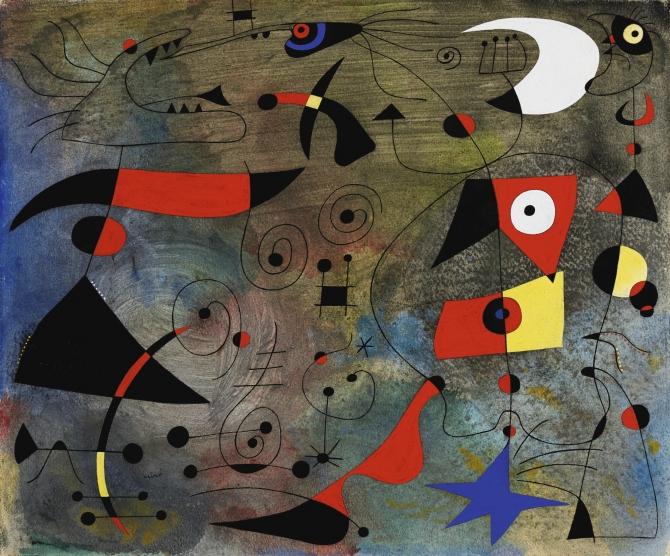 (w670) Joan Miro,