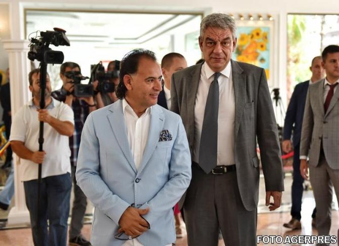 Mohammad Murad, alături de Mihai Tudose