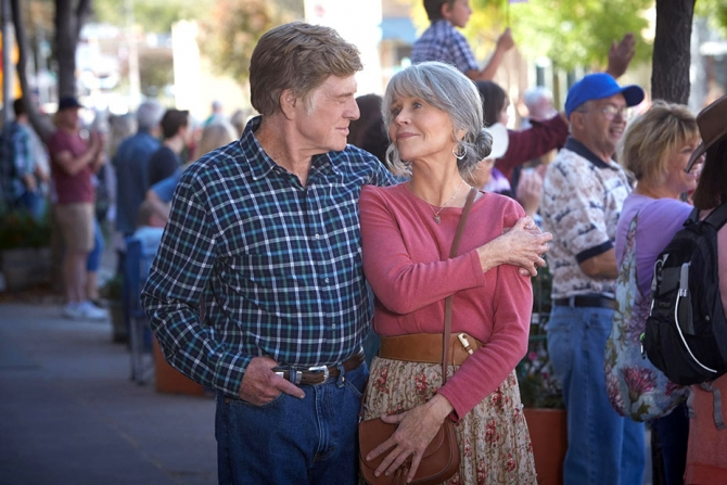Robert Redford si Jane Fonda, o   pereche nemuritoare