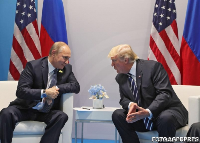 Vladimir Putin și Donald Trump