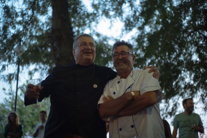 Mircea Dinescu şi Alejandro Barrachina Domenech