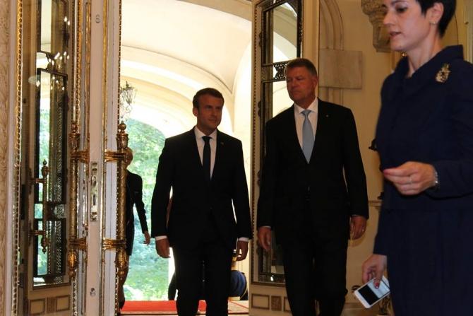Macron - Iohannis