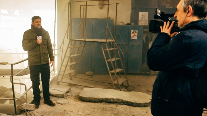 Andi Vasluianu. Breaking News. Foto Adi Marineci