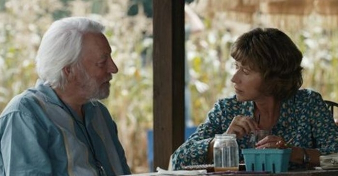 Helen Miren si Donald Sutherland in   The Leisure Seeker