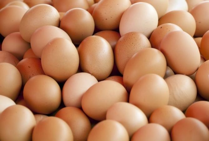 Birou vandalizat cu oua