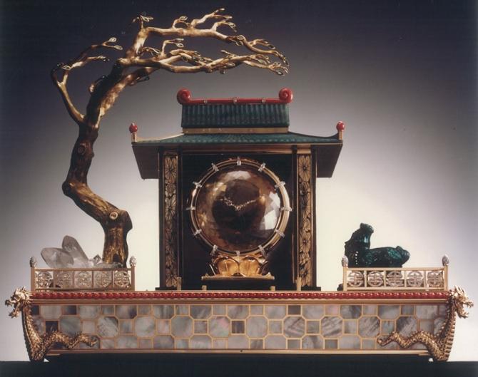 Pendula misterioasă Templul chinezesc al Dragonului