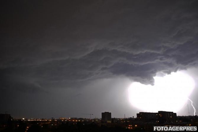 ANM, avertizare meteo, furtuna