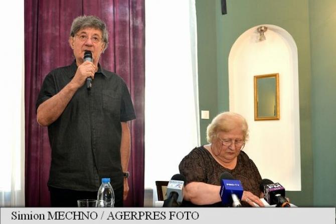 Ion Caramitru alături de Dorina Lazăr la conferinţa UNITER