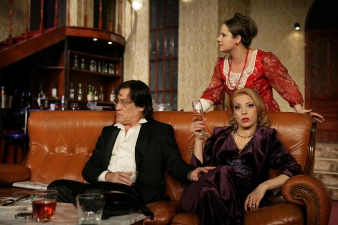 Marius Bodochi, Monica Davidescu,   Rodica Ionescu in Barfe, zvonuri si minciuni