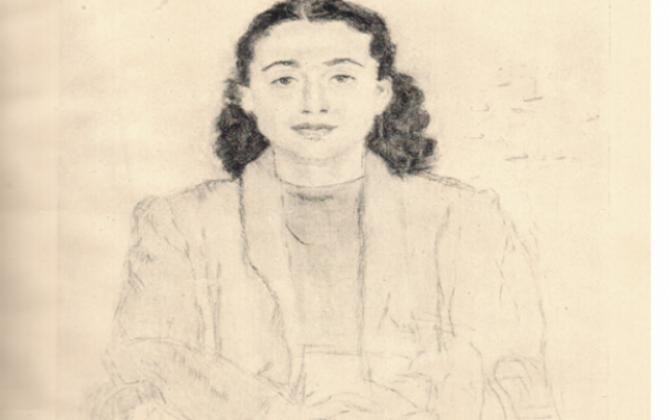 Portretul Balcicăi, semnat de Jean Alexandru Seriadi