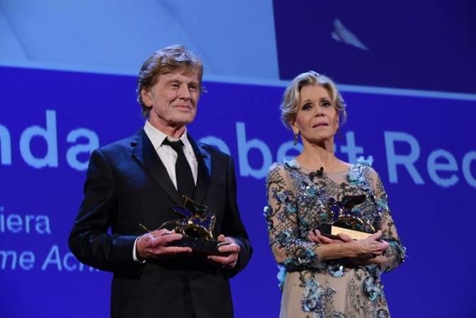 Robert Redford şi Jane Fonda, Leii de Aur pentru carieră