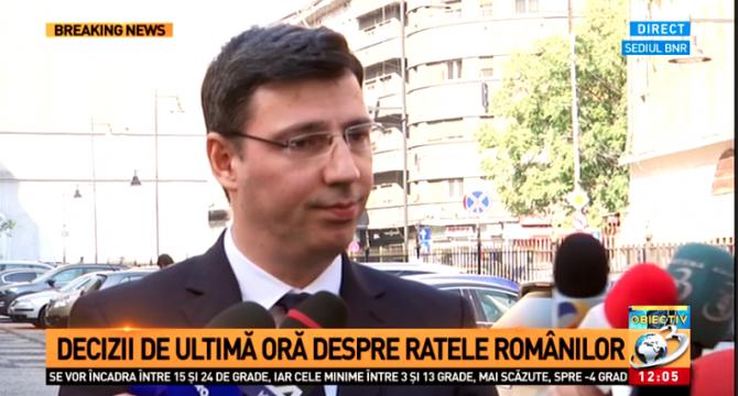 Ionuț Mișa după discuția cu BNR