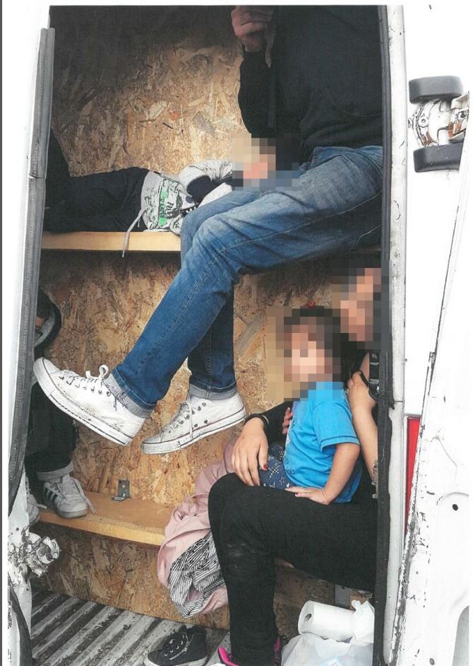 Rețea de trafic de migranți spre Marea Britanie, destructurată. foto: europol.europa.eu