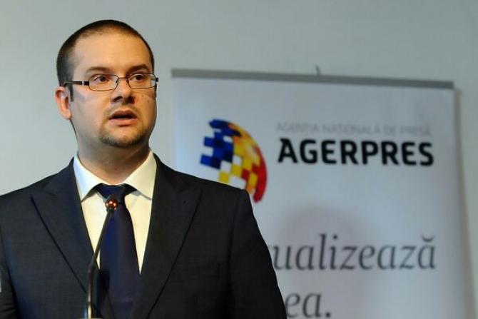 Alexandru Giboi, directorul general Agerpres