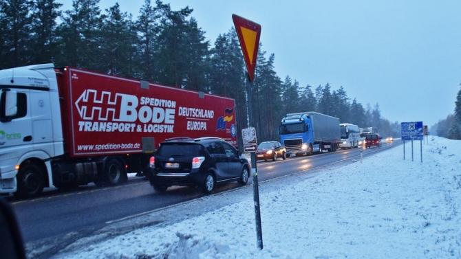 Scena accidentului / sursa Yle.fi