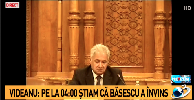 Adriean Videanu, comisia Sufrageria