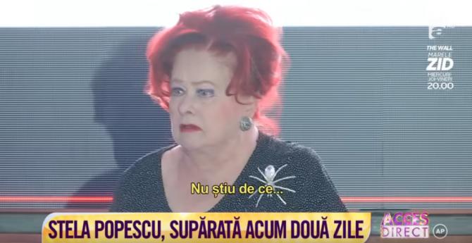 Stela Popescu, AVC