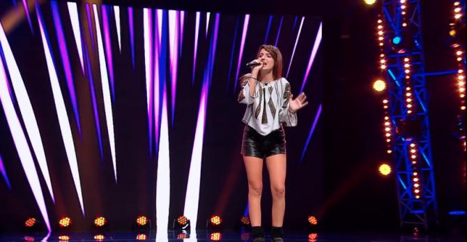 X Factor BOOTCAMP, 24 noiembrie 2017- Ioana Teodora Savu.