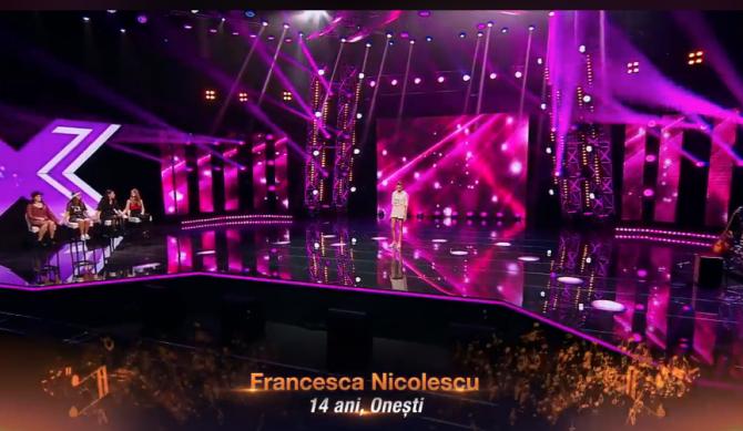 X Factor Bootcamp, FRANCESCA NICOLESCU